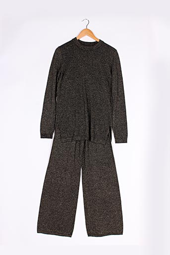 Pull/pantalon noir SAMSOE & SAMSOE pour femme
