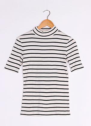 T-shirt manches courtes beige CLOSED pour femme