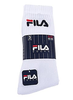 Chaussettes blanc FILA pour homme