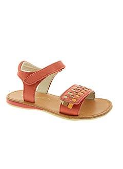 Sandales/Nu pieds rouge NOËL pour fille
