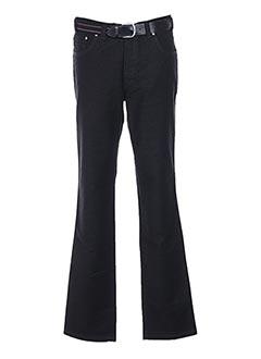 Pantalon chic noir GRIFFE NOIRE pour homme