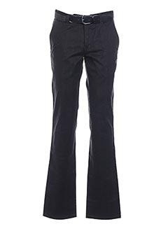 Pantalon casual noir GRIFFE NOIRE pour homme