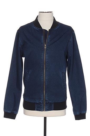 Veste en jean bleu ESPRIT pour homme