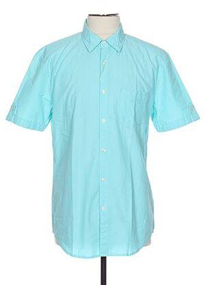 Chemise manches courtes vert ESPRIT pour homme