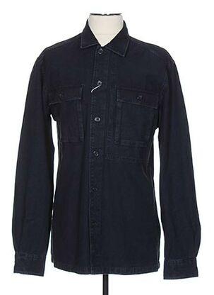 Chemise manches longues bleu ESPRIT pour homme