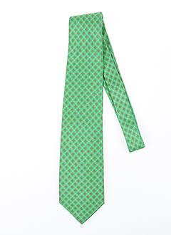 Cravate vert CRAVATISSIMO pour homme