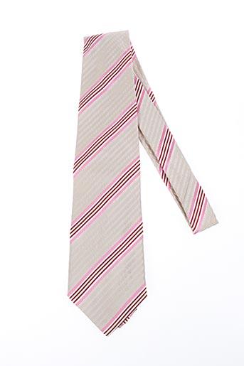 Cravate beige DANIEL HECHTER pour homme