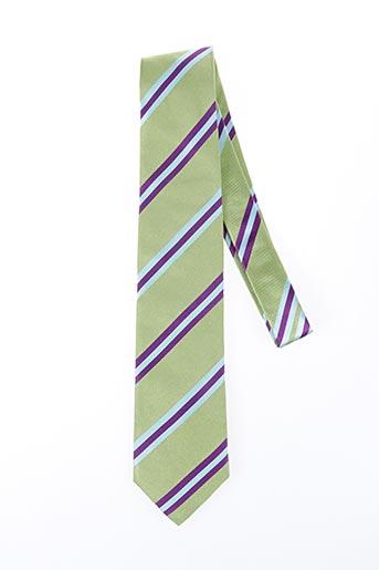 Cravate vert NODUS pour homme