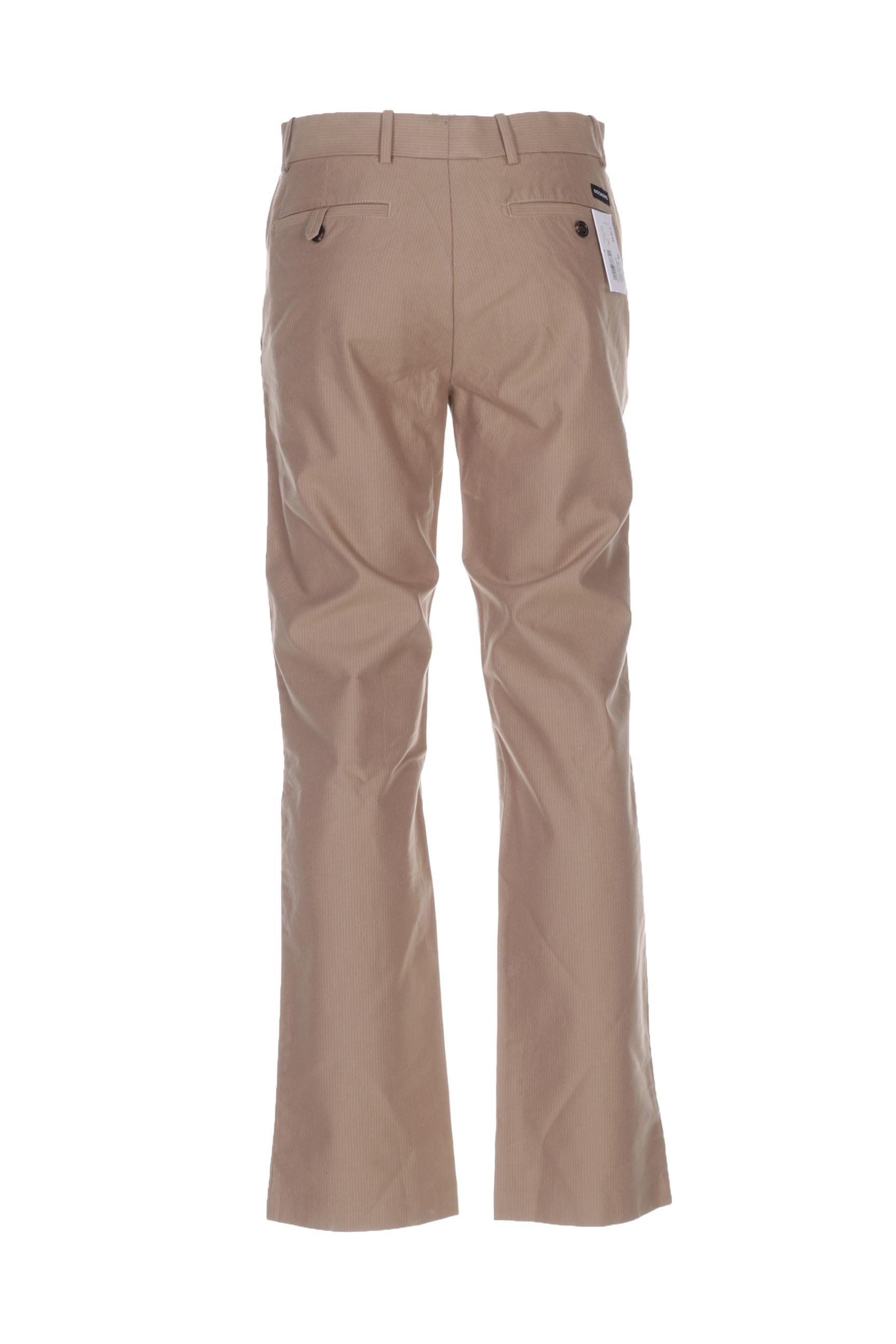Dockers Pantalons Decontractes Homme De Couleur Beige En Soldes Pas Cher 1372946-beige0