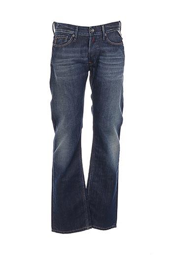 Jeans coupe droite bleu REPLAY pour homme
