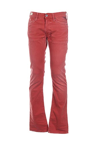 Jeans coupe droite orange REPLAY pour homme