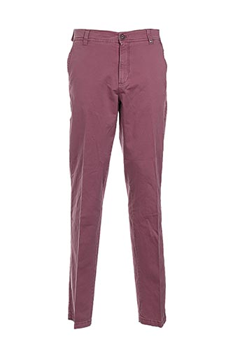 Pantalon casual rose BLUE SIDE pour homme