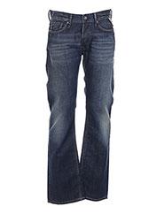 Jeans coupe droite bleu REPLAY pour homme seconde vue