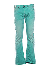 Jeans coupe droite vert REPLAY pour homme seconde vue