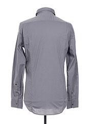 Chemise manches longues gris REPLAY pour homme seconde vue