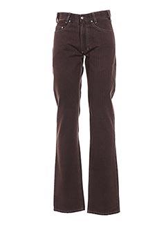 Pantalon casual marron M.E.N.S pour homme