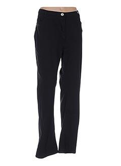 Pantalon casual noir CINTRE A CINTRE pour femme
