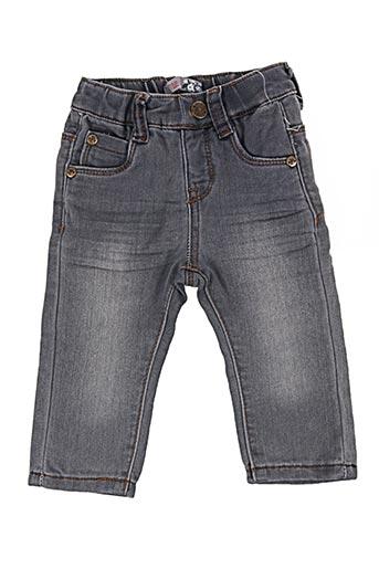 Jeans coupe droite gris GROSEILLE pour fille
