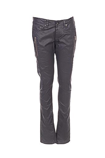Pantalon casual gris BY JOOS pour fille