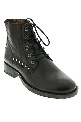 Bottines/Boots noir COCO ET ABRICOT pour femme