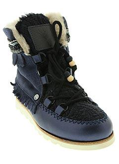 Bottines/Boots bleu DOLFIE pour fille