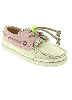 Derbies rose DOLFIE pour fille