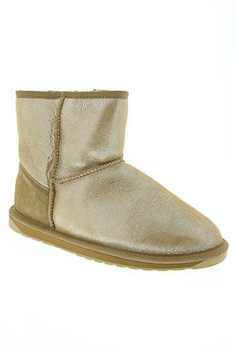 Bottines/Boots beige EMU AUSTRALIA pour femme