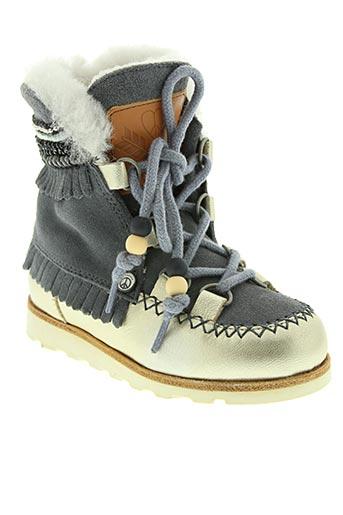 Bottines/Boots gris DOLFIE pour fille