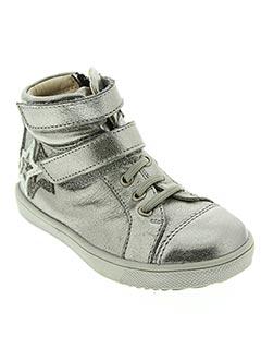 Baskets gris GBB pour fille