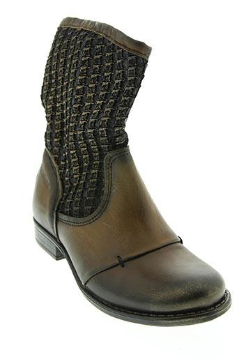 Bottines/Boots marron BUNKER pour fille