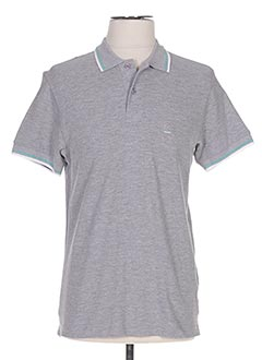 Polo manches courtes gris CROSSBY pour homme