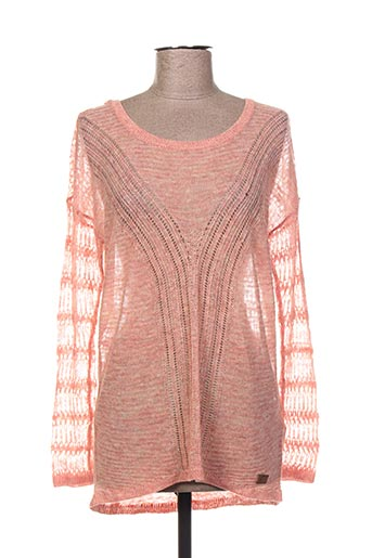Pull col rond rose O'NEILL pour femme