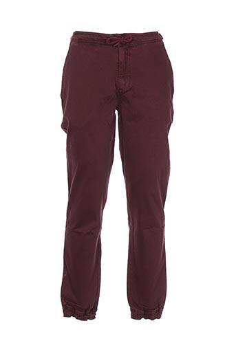Pantalon casual rouge BENCH pour homme