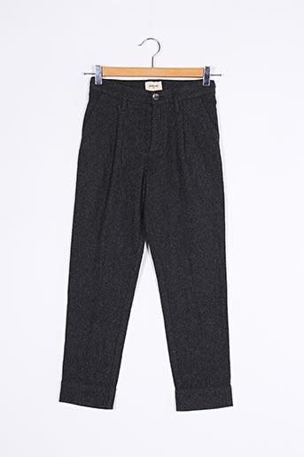 Pantalon casual gris BELLEROSE pour fille