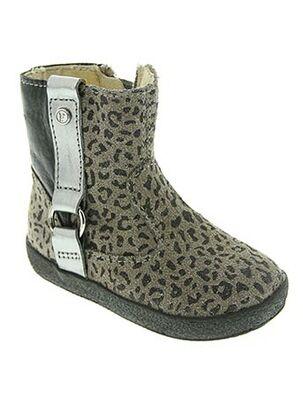 Bottines/Boots gris FALCOTTO pour fille