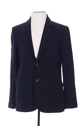 Veste casual bleu HARRIS WILSON pour homme