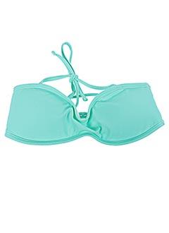 Haut de maillot de bain vert MONPETITBIKINI pour fille