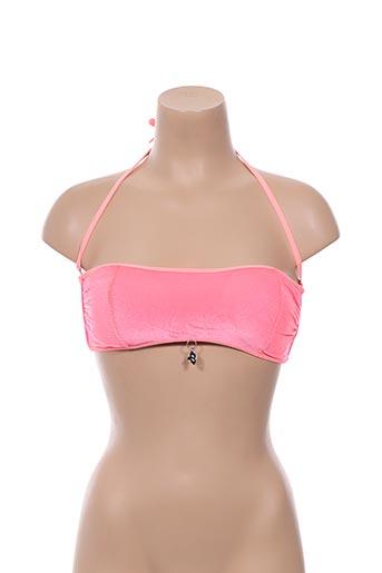 Haut de maillot de bain rose BIKINI BAR pour femme