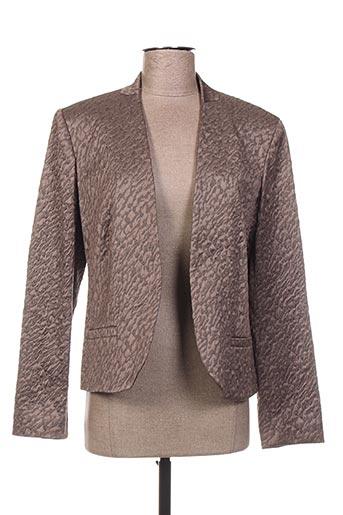 Veste casual marron WEINBERG pour femme