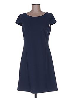 Robe courte bleu POUSSIERE D'ETOLE pour femme