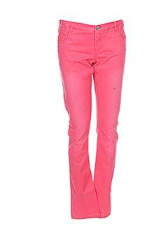 Pantalon casual rouge NAME IT pour fille