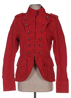 Veste casual rouge APRIL 77 pour femme
