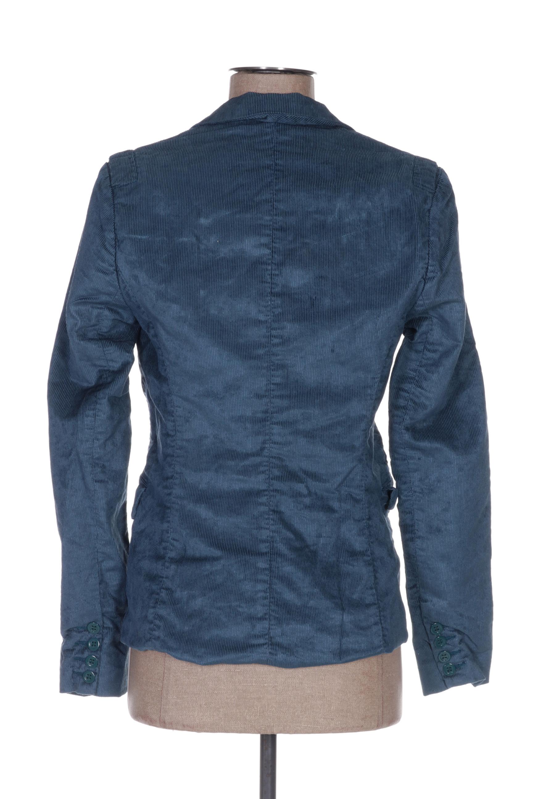 April 77 Vestechic Femme De Couleur Bleu En Soldes Pas Cher 1374203-bleu00
