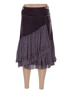 Jupe mi-longue violet ENTRACTE pour femme