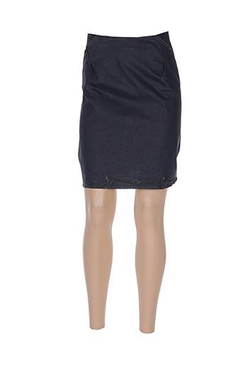 Jupe courte bleu AVENTURE pour femme