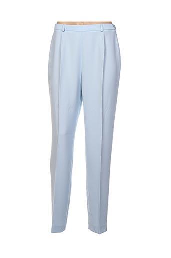 Pantalon chic bleu GERARD PASQUIER pour femme