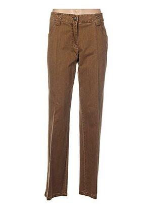 Pantalon casual marron APANAGE pour femme