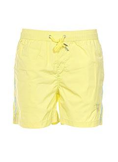 Short jaune CROSSBY pour homme