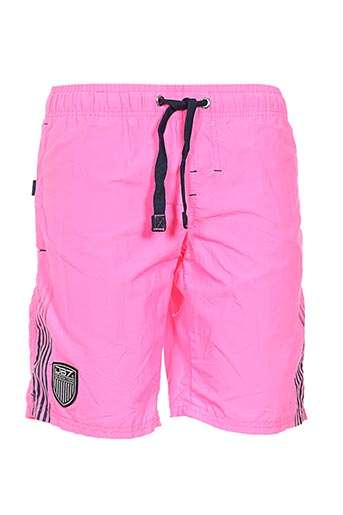 Short rose GEOGRAPHICAL NORWAY pour homme
