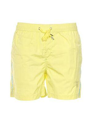 Short de bain jaune CROSSBY pour homme